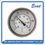 Thermomètre en acier inoxydable - Thermomètre bimétallique - Thermomètre à réservoir