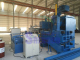 De horizontale Automatische Machine van het Briketteren van de Spaanders van het Staal voor Uitsmelting