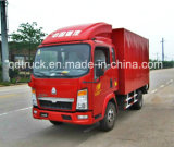 Sinotruk HOWO 4X2 130HP Light Cargo Truck