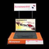 Stand de bureau acrylique élégant pour des ordinateurs portatifs