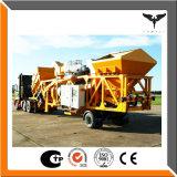 Impianto di miscelazione dell'asfalto mobile, impianto di miscelazione del timpano, 10-80tph