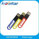 De mini Stok USB Pendrive van de Flits van het Geheugen van de Klem USB Plastic