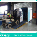 Carregamento hidráulico fixo do armazenamento e descarregamento de rampas da doca do recipiente