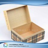 Lederner verpackenluxuxkasten für Geschenk-Nahrungsmittelschmucksache-Kosmetik (xc-hbg-017A)