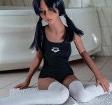 Sapm91Aの生命によって大きさで分類されるシリコーンの性の人形の金属の骨組実質の感じ愛人形