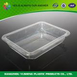 Contenitore libero rotondo di plastica dello scompartimento