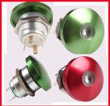 interruttore chiaro di arresto verde del fungo del diametro di 22mm