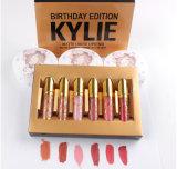 2017 neuer Kylie Jenner Lippenstift Kykie flüssige Lippenstift-Geburtstag-Mattausgabe durch Kylie Jenner mit guter Qualität