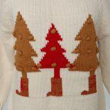 Cadeau de Noël de Pull Ladeis en Jacquard Design et Qualité Acrylique Soft Handfeel