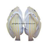 Тапочка ЕВА пляжа конструкции горячего сбывания новая для напечатанной двойной сандалии тапочки ЕВА цвета