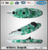 De hete Verkoop zit op Hoogste Goedkope Plastic Kajak