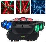 Neues heißes verkaufendj positionieren träger-Licht der Einheit-9 Eyes12W RGBW 4in1 bewegliches Hauptdes armkreuz-LED