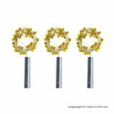 La cadena del corcho de la botella enciende la luz blanca caliente con pilas de la cadena 3m30LED del alambre de plata para el día de fiesta/la decoración casera/de la boda