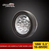 5 indicatore luminoso del lavoro agricolo del CREE LED di pollice 18W per la macchina agricola