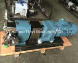 Pompa igienica di grande viscosità del rotore del grado dell'acciaio inossidabile