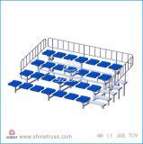 Beweglicher Aluminiumstandplatz, heller Standplatz, Bleacher-Sitz