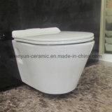 Armario de agua de cerámica de Washdwon del tazón de fuente de tocador del colgante de pared (ML-588)