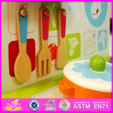 Novo Design 2016 Kids Cozinha brinquedos de madeira W10C185