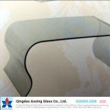 家具または建物ガラスのための曲げられたか、または曲げられた明確な緩和されたか強くされたガラス