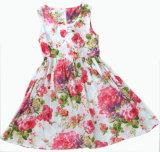 Платье девушки детей цветка в малышах одевает (SQD-113)