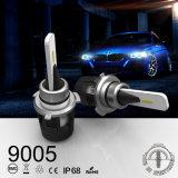 B6 Auto 9005 Hb3 LEIDENE Koplamp met de Beste Kwaliteit van de Turbine 24W 3600lm