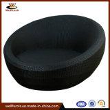 Tour de lit de repos en plein air en rotin avec coussin étanches- (WF050050)