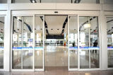 Wide VOL days Glass barrier Hanging Glass Door with Ce Certificate