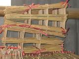 Rete fissa di bambù naturale di alta qualità