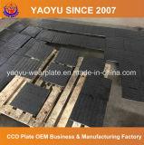 Plaque bimétallique de garniture avec le recouvrement de soudure de carbure de chrome