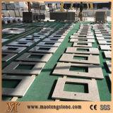 ベージュ星の水晶平板の工場直接供給の水晶カウンタートップ