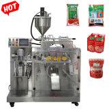 Doy Pack Sticky molho de pimenta/Chili Cole/manteiga/creme/Ketchup/óleo/líquido de lavagem da máquina de embalagem automática de máquinas de estanqueidade de Enchimento
