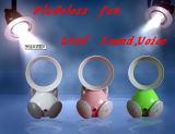 Mini USB Bladeless электровентилятора системы охлаждения двигателя с помощью громкоговорителя и голосовой чат