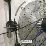 Strukturierte Wand HDPE Rohr-Strangpresßling-Zeile