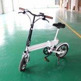 bici elettrica piegata della batteria di litio 36V mini 14inch