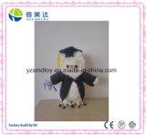 Nouveau Design Doctor Owl Plush Toy pour Student