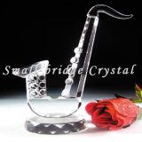 Modelo cristalino del saxofón (MX4007)