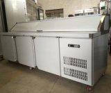 피자 스테인리스 일 상단 냉장고 작업대 냉장고 Undercounter 냉각장치