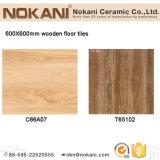 Wood Design de porcelana de azulejos do piso de madeira 600x600mm