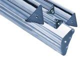 Triangle de tubes en verre borosilicaté capillaire et de la tige
