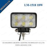 Selbst-LED Licht-Arbeit 18W 4.3 Zoll Bridgelux 6PCS*3W LED Arbeits-fahrender Licht-