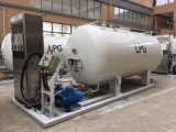 5-60 Cbm Capacity LPG Skid pour les véhicules et le cylindre de cuisson