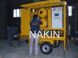 Beweglicher Typ Vakuumtransformator-Öl-Reinigungsapparat mit Schlussteil (3000L/H)