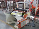 Machine de soufflage de film avec enrouleur semi-automatique