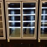 냉장고가 유리제 문 Multideck 전시 냉각장치에 의하여 플러그를 꽂는다