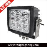 """EMCは6つの""""正方形90W頑丈なクリー族LED作業ライトを承認した"""