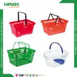 Loja de Conveniência Lado Carring cesta de compras de supermercado