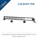 Lmusonu 12V 24V Accesoires Auto Parts 4X4 21 pouces voiture simple rangée droite barre lumineuse à LED 75W