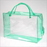 Quadratische untere Plastiktasche