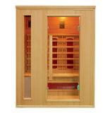 De Infrarode Cabine van de Zaal van de sauna voor 2 Mensen