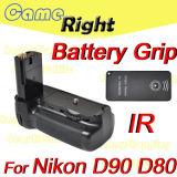 Vertikaler Batterie-Griff für Nikon D90 D80 ALS MB-D80+ Fernsteuerungs